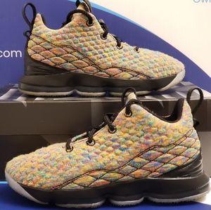 Nike LeBron 15 Fruity Pebbles Kids 2y